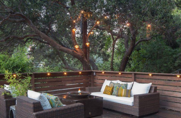 Дизайн садовой мебели из дерева